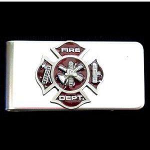 NWT Fire Department Money Clip